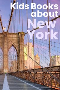 picture books about New York - books about New York history - picture books about New York City