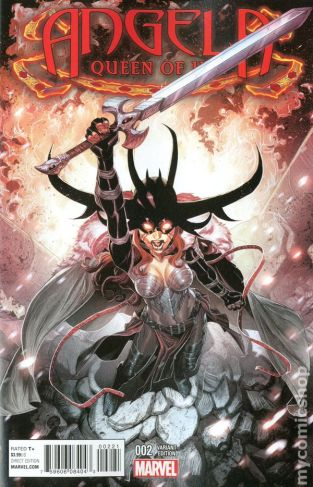 Angela Queen of Hel #2B