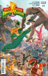 Mighty Morphin Power Rangers #1A