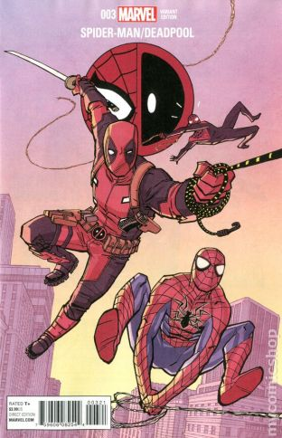 Spider-Man / Deadpool #3B