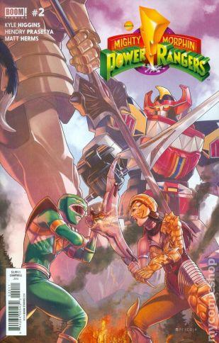 Power Rangers #2A