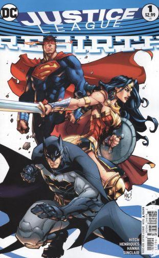 Justice League: REBIRTH #1B