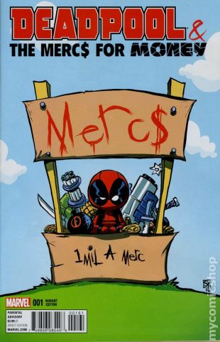 Deadpool Merc #1D