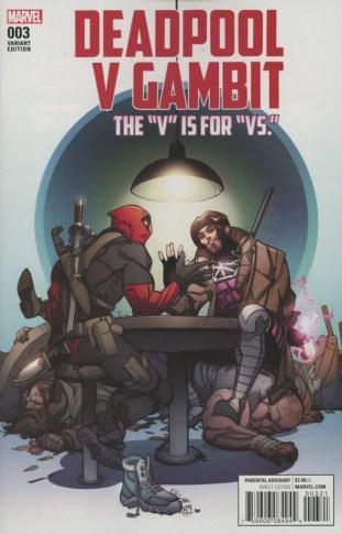 Deadpool Vs. Gambit #3B