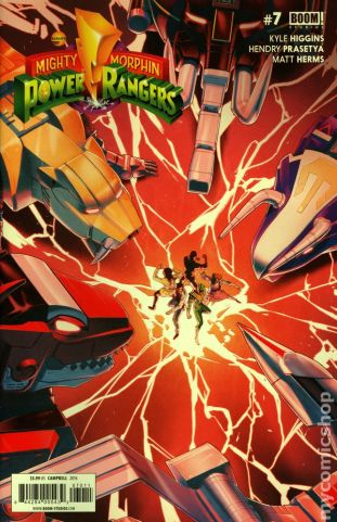 Power Rangers #7A