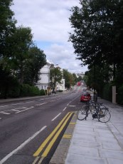 Ladbroke Grove - view down the hill that gives Notting Hill its name