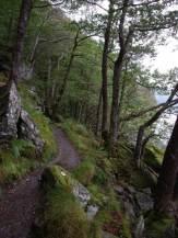 The path along Loch Lomond