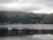 Boats on Loch Leven