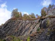 Slate quarry in Ballachulish
