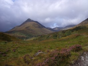 View of the munros