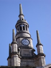 Church tower near Buchanan Street
