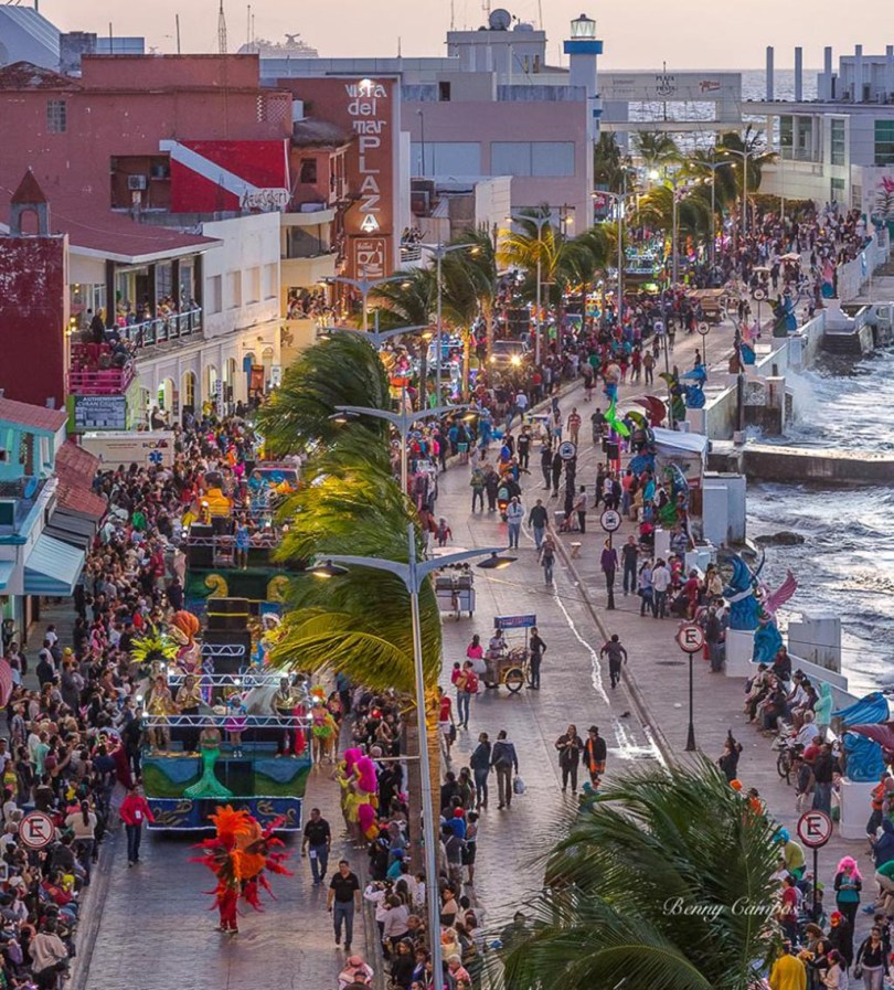 Carnival at cozumel on february