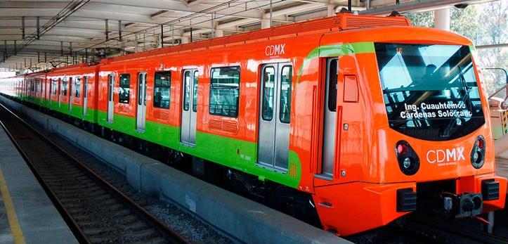 vagon del metro de la ciudad de mexico