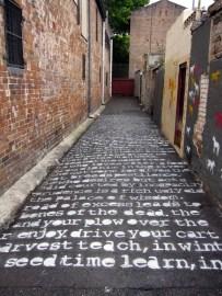 Literary Grafitti
