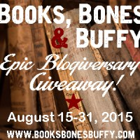 Tammy's Epic Book Review Giveaway & Blogiversary Celebration!