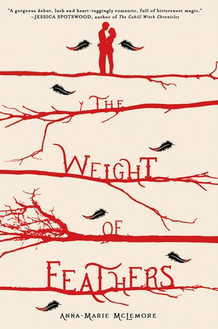 THE WEIGHT OF FEATHERS by Anna-Marie McLemore – Review
