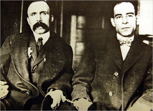 Sacco & Vanzetti, not unlike Syrian immigrants then or now