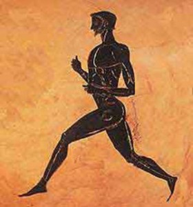 Pheidippides, the courier who saved Western Civilization.