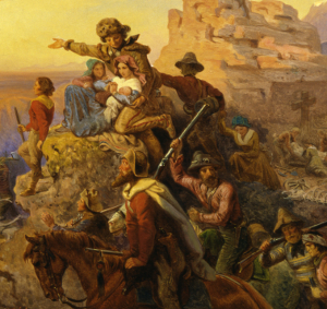 Westward Ho! A romaticization of American Exceptionalism.