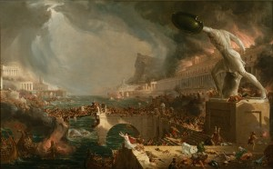 Romanticization of destruction, Thomas Cole