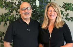 Joseph N. Abraham, MD, and Jan Swift of Discover Lafayette