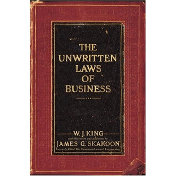 The unwritten laws of Business - Couverture