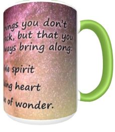 Flexible and Wonder Spirit mug back