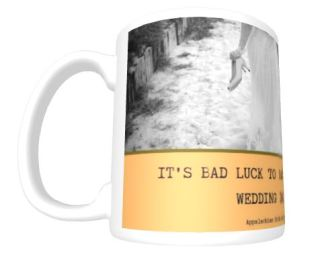 Appalachia Wedding Luck mug front