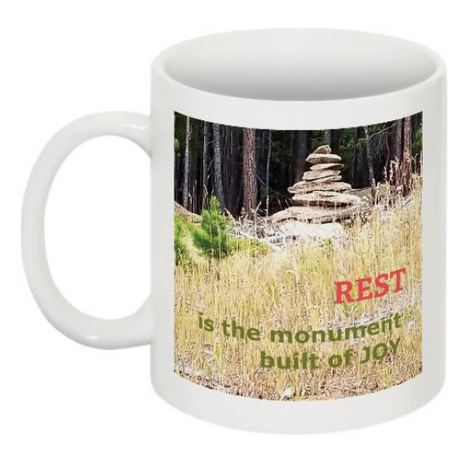 Monument to Joy mug back