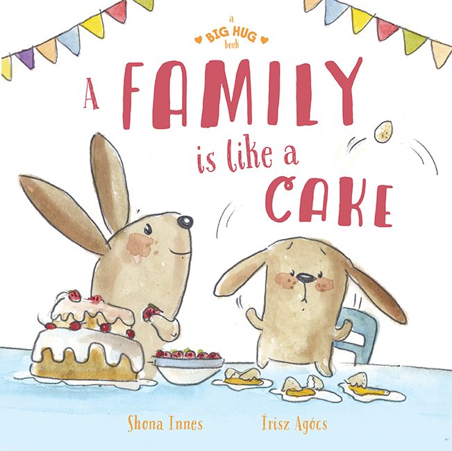 Book Cover Image for A Family is Like a Cake