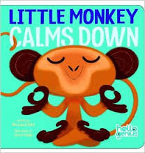 Book Cover Image for Little Monkey Calms Down**