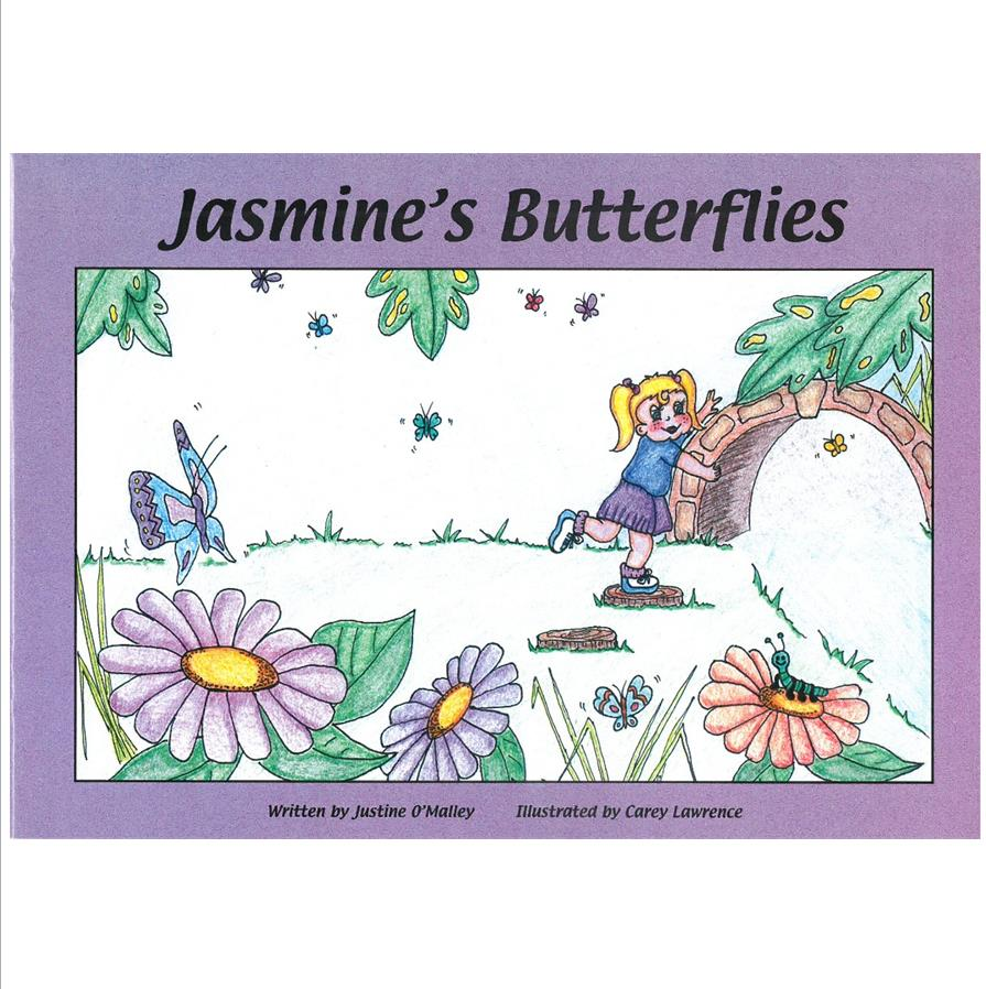 Book Cover Image for Jasmine's Butterflies (Early Warning Signs)