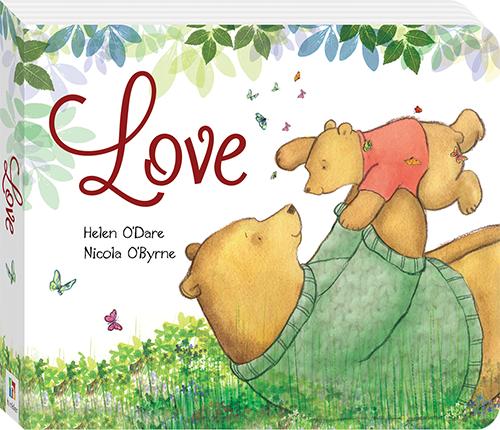 Book Cover Image for Love board book