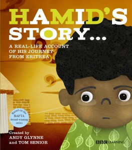 Hamid's Story - This is the real-life story of 10 year old refugee Hamid who flees Eritrea with his mother to escape the war and threats to his family from the government. Told in Hamid's own words, the story reveals the hardship and suffering experienced by immigrants who are rebuilding their lives with little understanding of the language and culture in a new country.