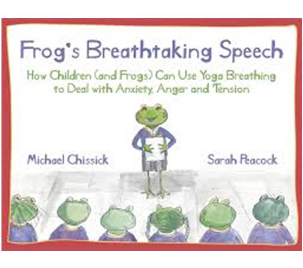 Book Cover Image for Frog's Breathtaking Speech