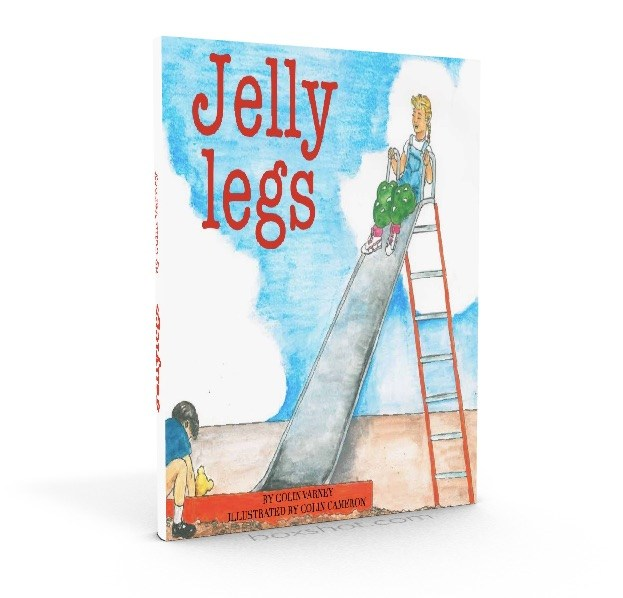 Book Cover Image for Jelly Legs