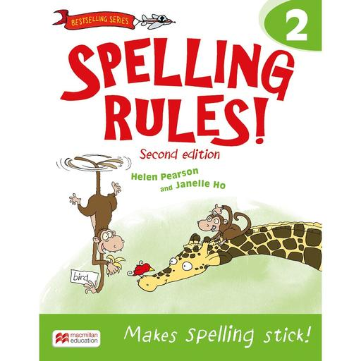 Book Cover Image for Spelling Rules! 2nd Edition Book 2