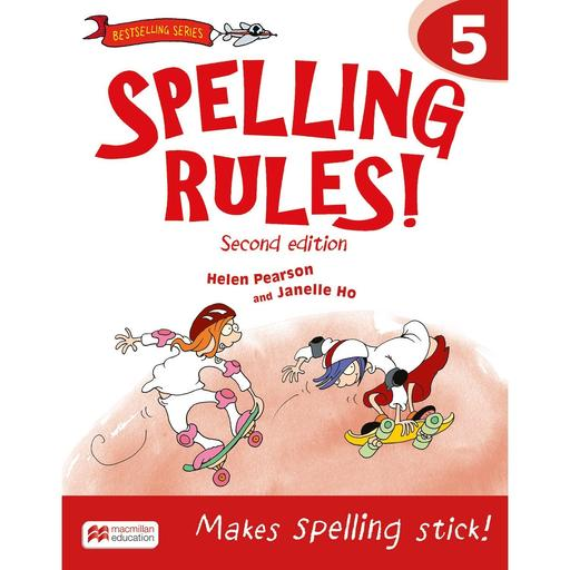 Book Cover Image for Spelling Rules! 2nd Edition Book 5