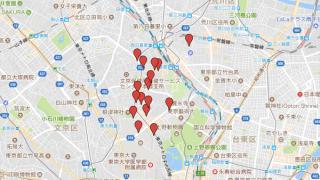 谷根千散歩に本屋を入れないなんて言わせない! 谷根千本屋めぐりMAP(2017.10.8 更新)