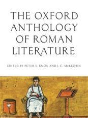 ISBN: 9780195395167 - Oxford Anthology of Roman Literature