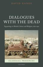 ISBN: 9780199653102 - Dialogues with the Dead