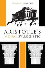 ISBN: 9780674724549 - Aristotle's Modal Syllogistic