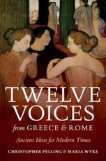 ISBN: 9780199597369 - Twelve Voices from Greece and Rome
