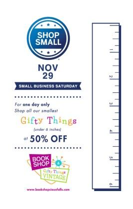 Small Things Sale! Nov 29, 2014