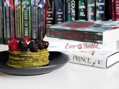 books and food