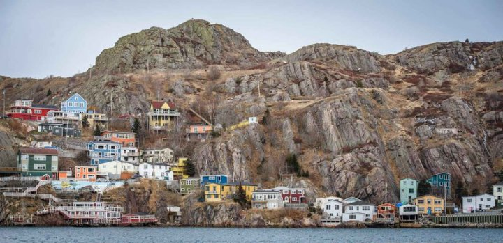 A fishing town in Newfoundland, Canada