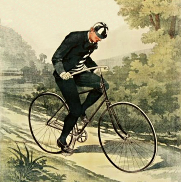 A Victorian Era Criminal Leads Police on a High Speed Bicycle Chase