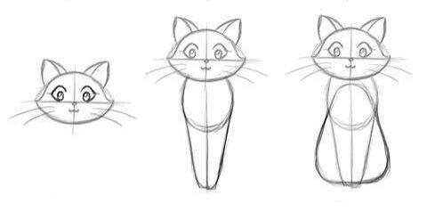 02. Как нарисовать кота за несколько минут?