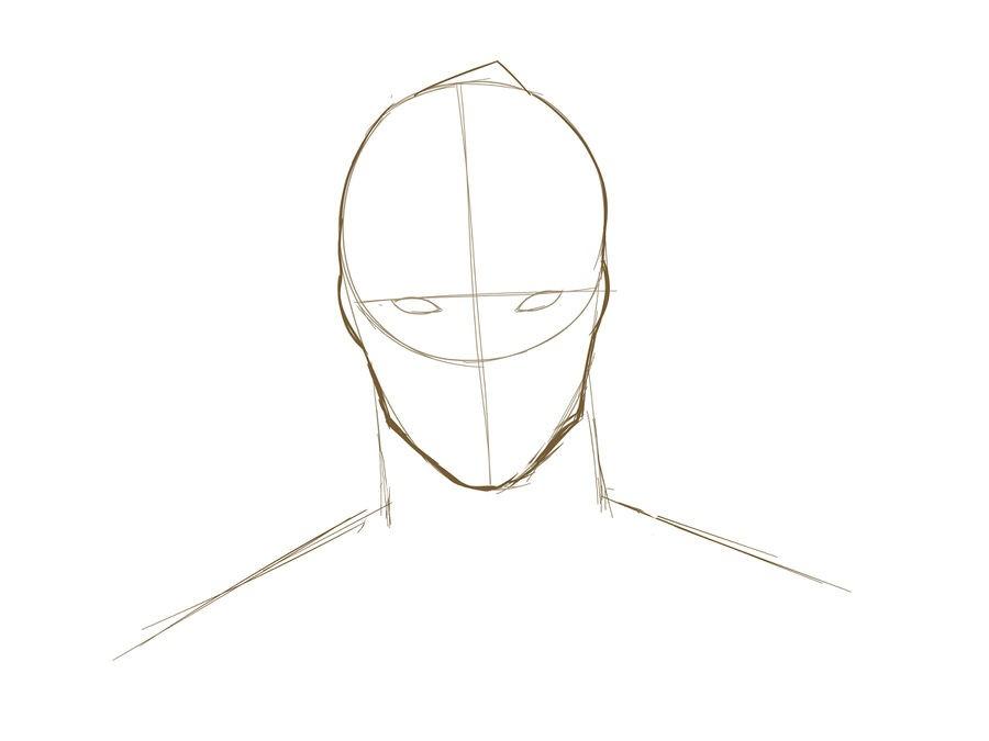 05. Как нарисовать дэдпула поэтапно