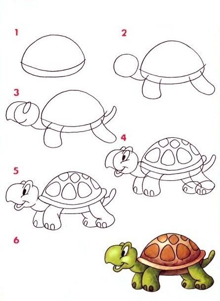 09. Как рисовать животных поэтапно?
